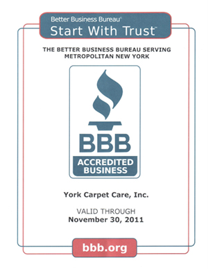 York Carpet Cleaning B 2011